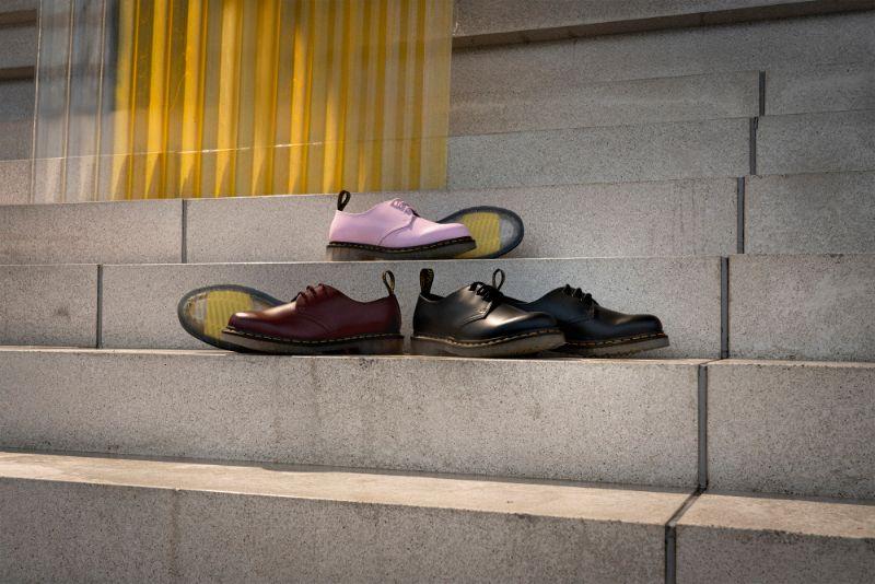 Dr. Martens 1461 Iced 2 Dr. Martens ra mắt mẫu giày mới với thiết kế đế trong suốt độc đáo 1461 Iced