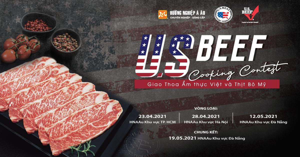 HNAAu US Beef Cooking Contest 2021 U.S. Beef Cooking Contest – Đấu trường ẩm thực cho các đầu bếp trẻ