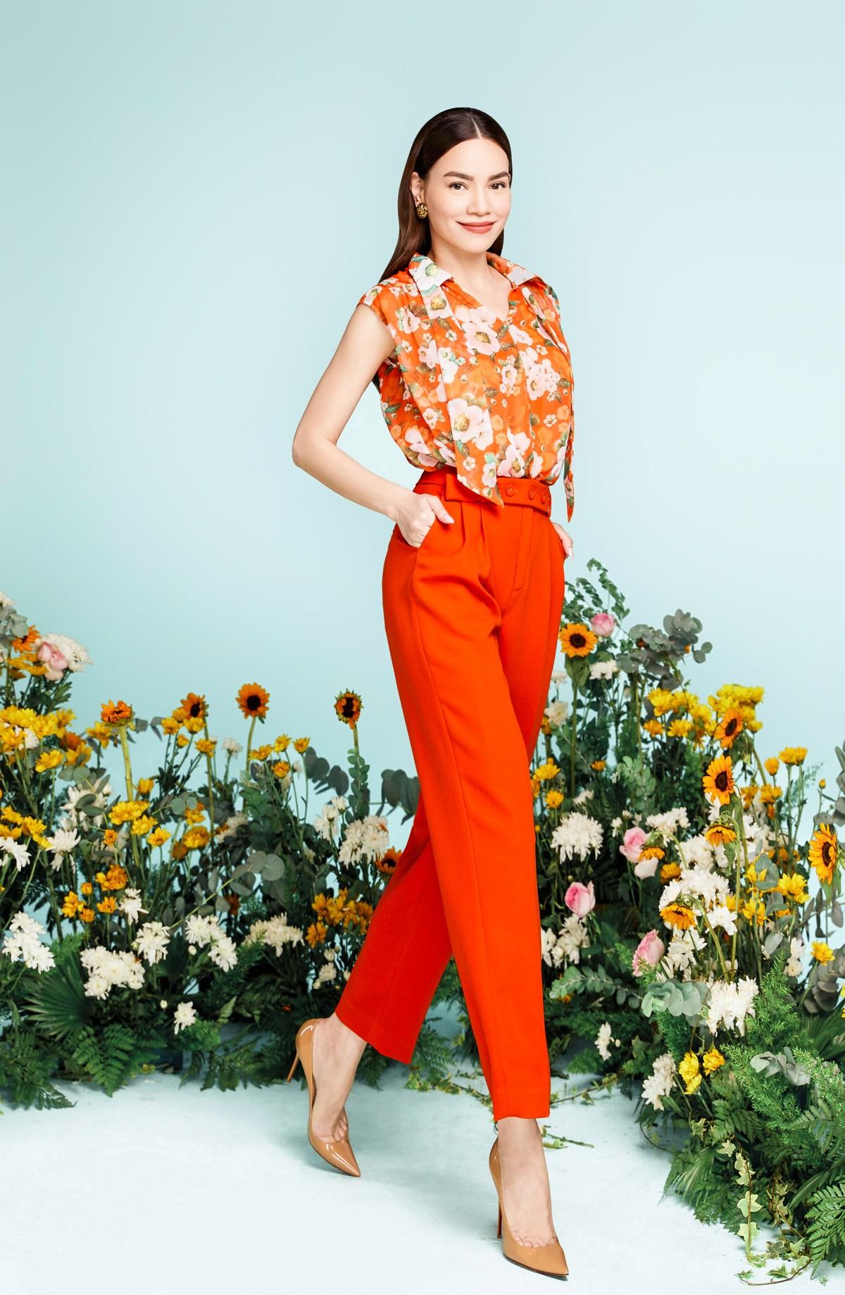 BST cũng mang đến những phom dáng mới mẻ với những chi tiết cầu kỳ Hồ Ngọc Hà xuất hiện lung linh trong BST mới của NEVA Fashion