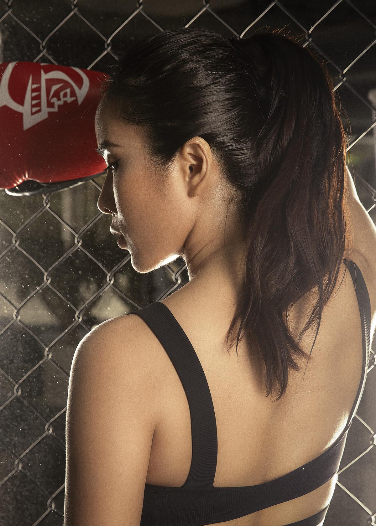 Bella Mai11 Trở lại với boxing, Bella Mai khoe cơ bụng số 11 săn chắc, quyến rũ