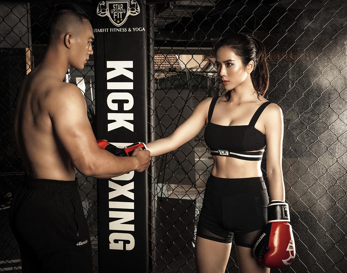 Bella Mai7 Trở lại với boxing, Bella Mai khoe cơ bụng số 11 săn chắc, quyến rũ