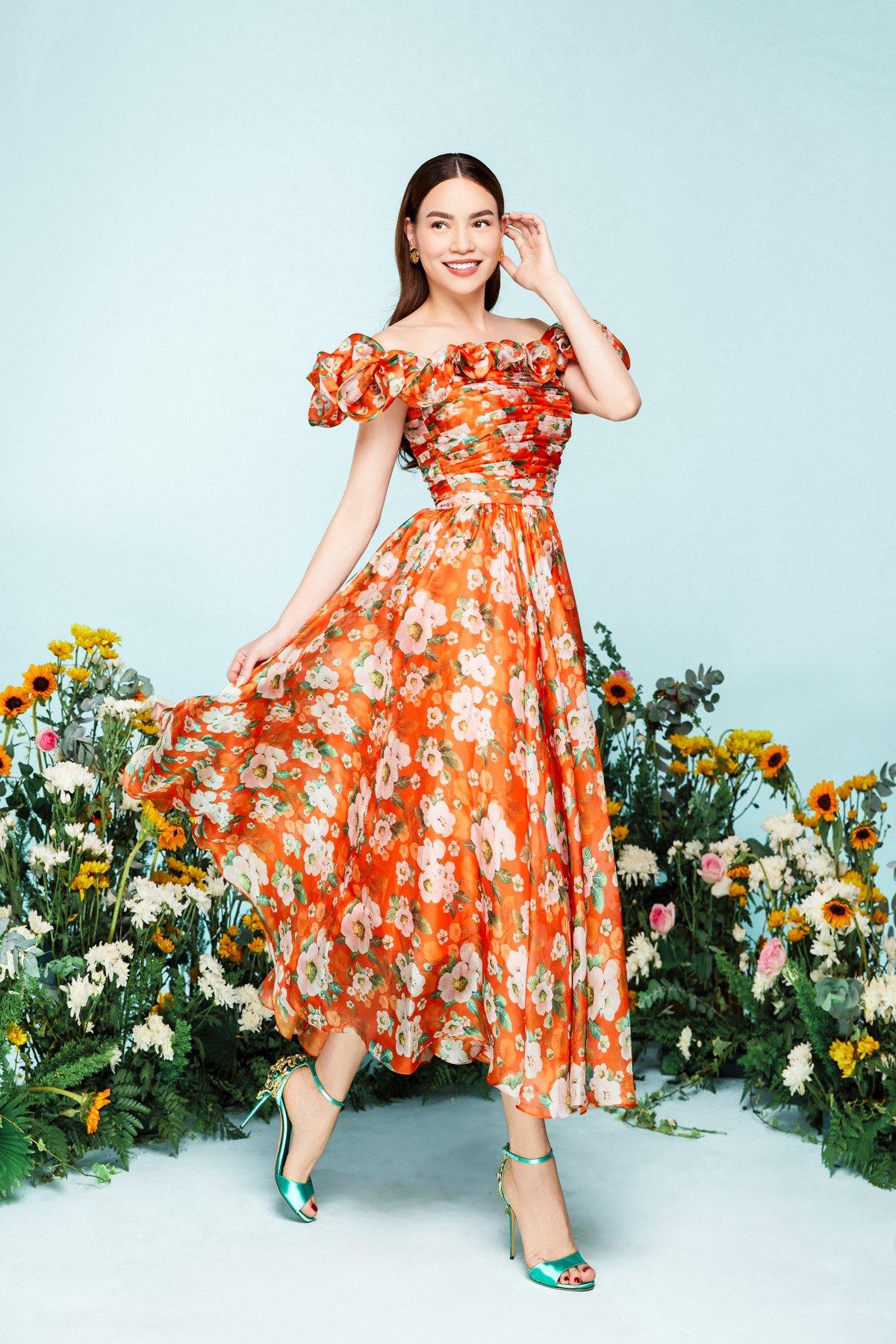 NEVA2189 Hồ Ngọc Hà xuất hiện lung linh trong BST mới của NEVA Fashion