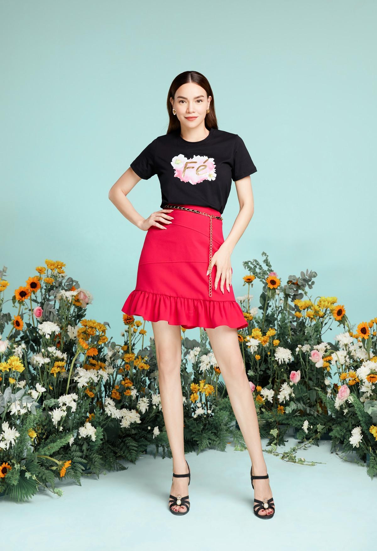 NEVA2481 Hồ Ngọc Hà xuất hiện lung linh trong BST mới của NEVA Fashion