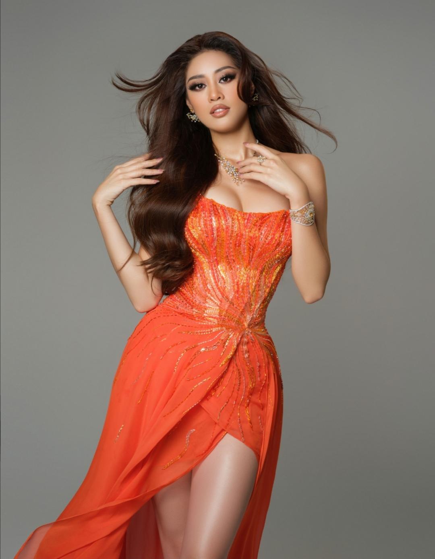 Screenshot 20210515 152649 Hoa hậu Khánh Vân diện trang phục dạ hội lấy cảm hứng từ hừng đông tại bán kết Miss Universe