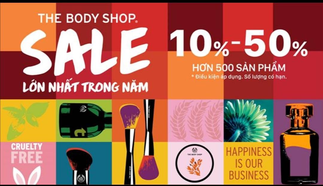 Screenshot 20210518 205026 Tháng năm rực rỡ, sale lớn bất ngờ từ The Body Shop