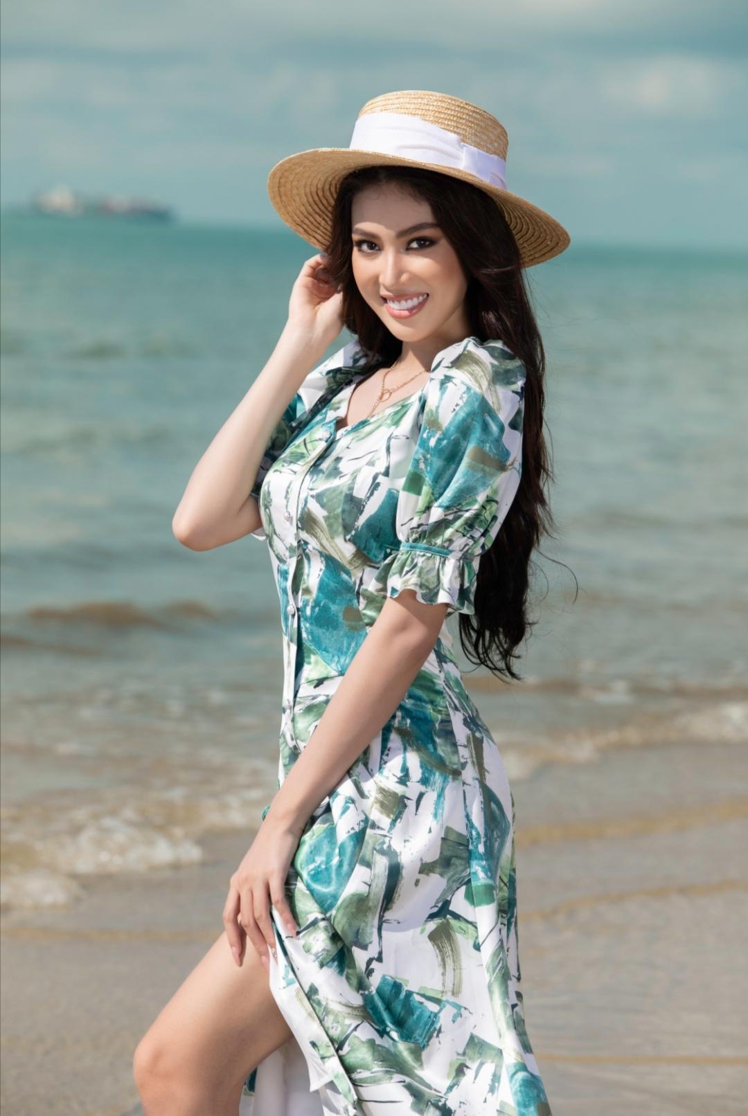 Screenshot 20210520 222746 Á hậu Ngọc Thảo mách tips để các nàng tha hồ sống ảo ngày hè
