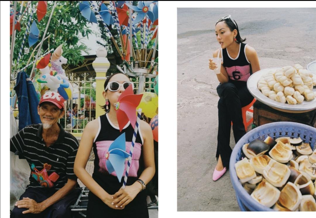 Screenshot 20210528 181616 Hồ Thu Anh quảng bá vẻ đẹp An Giang qua bộ ảnh Ăn   Cầu nguyện – Yêu – Đi