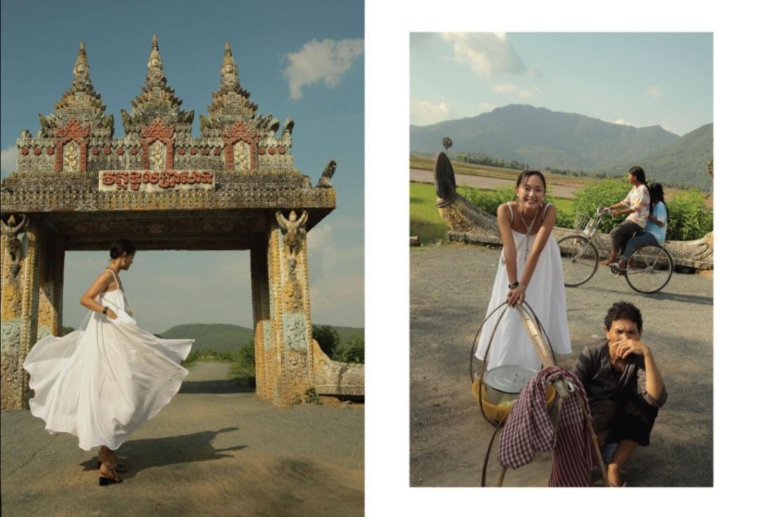 Screenshot 20210528 181646 Hồ Thu Anh quảng bá vẻ đẹp An Giang qua bộ ảnh Ăn   Cầu nguyện – Yêu – Đi