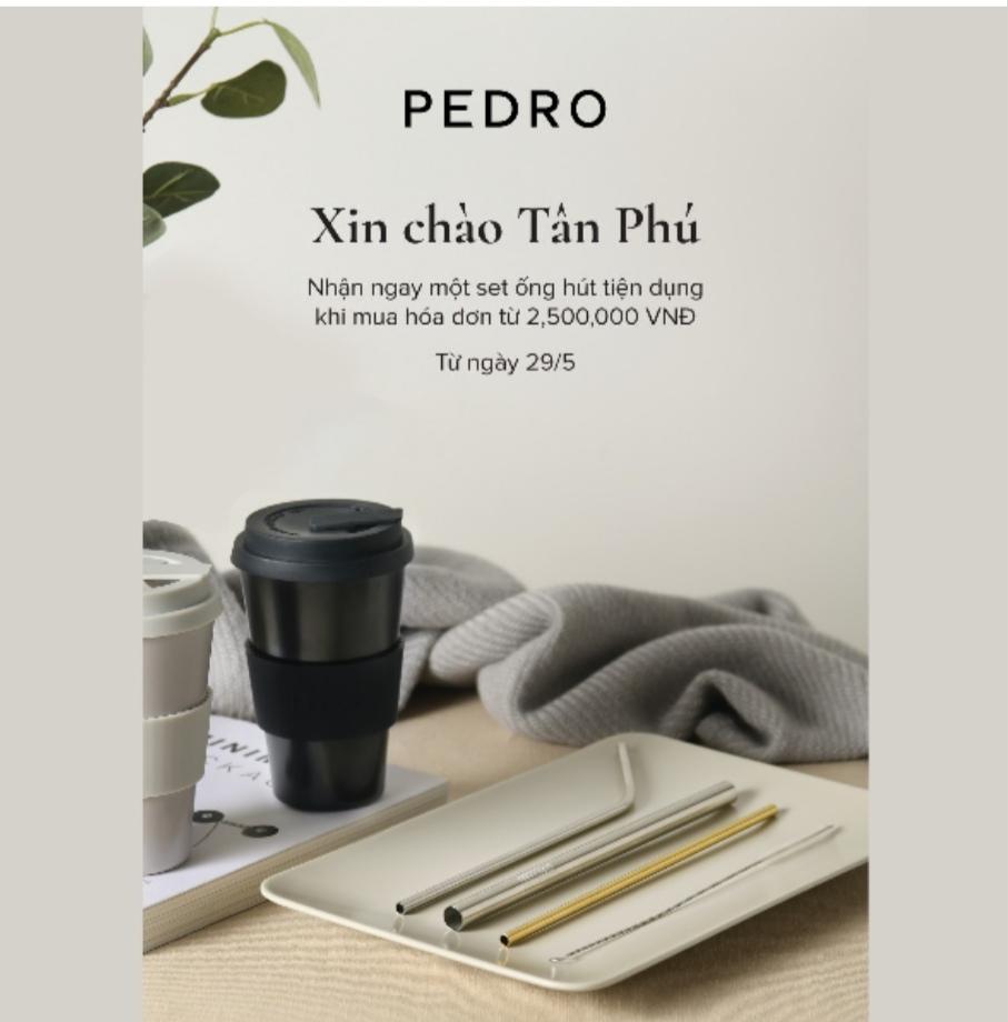 Screenshot 20210530 130019 PEDRO hạ cánh nơi Aeon Mall Tân Phú, khai trương cửa hàng thứ 20 tại Việt Nam