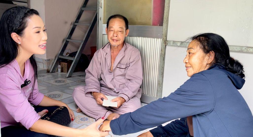 trinh kim chi 1 NSƯT Trịnh Kim Chi chăm lo những nghệ sĩ có hoàn cảnh đặc biệt trong mùa dịch