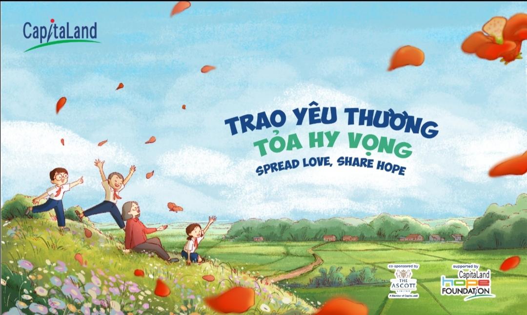 Screenshot 20210602 161724 CapitaLand hỗ trợ 1 tỷ đồng Trao yêu thương, Tỏa hy vọng giúp đỡ trẻ em khó khăn tại Việt Nam