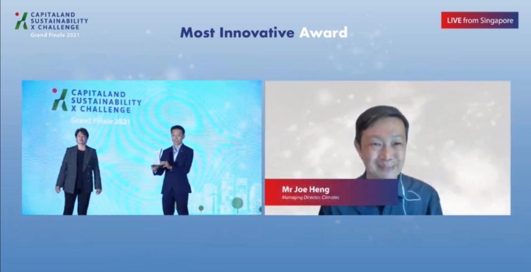 Screenshot 20210616 213804 CapitaLand công bố Quỹ Đổi mới trị giá 50 triệu đô la Singapore