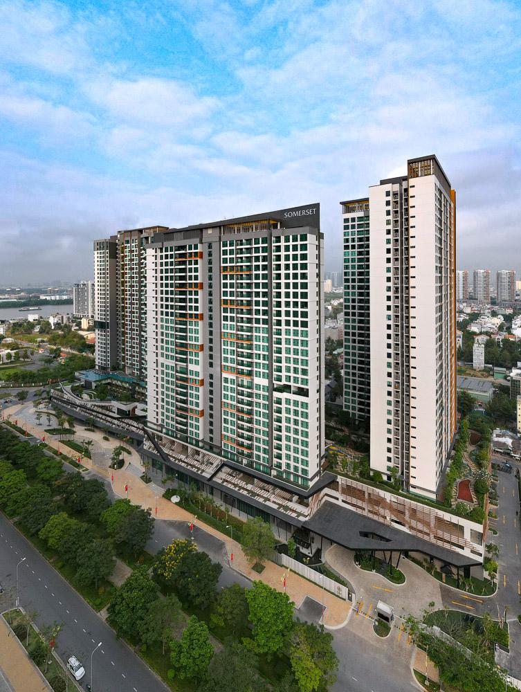 SR Vietnam HoChiMinhCity SomersetFeliz Building LR.JPG Ascott khai trương tòa nhà căn hộ dịch vụ thương hiệu Somerset thứ 10 tại Việt Nam