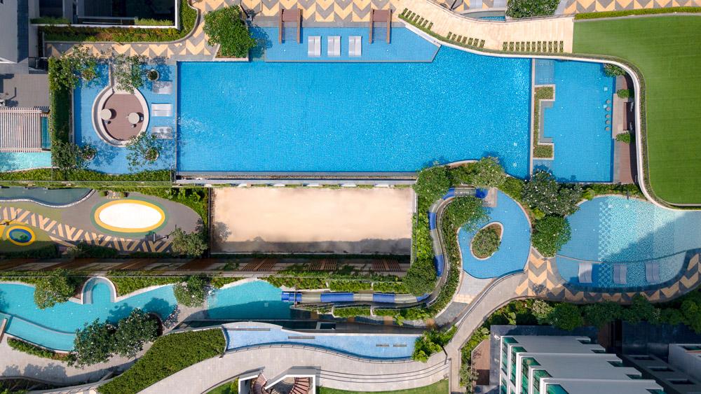 SR Vietnam HoChiMinhCity SomersetFeliz SwimmingPool3 LR Ascott khai trương tòa nhà căn hộ dịch vụ thương hiệu Somerset thứ 10 tại Việt Nam