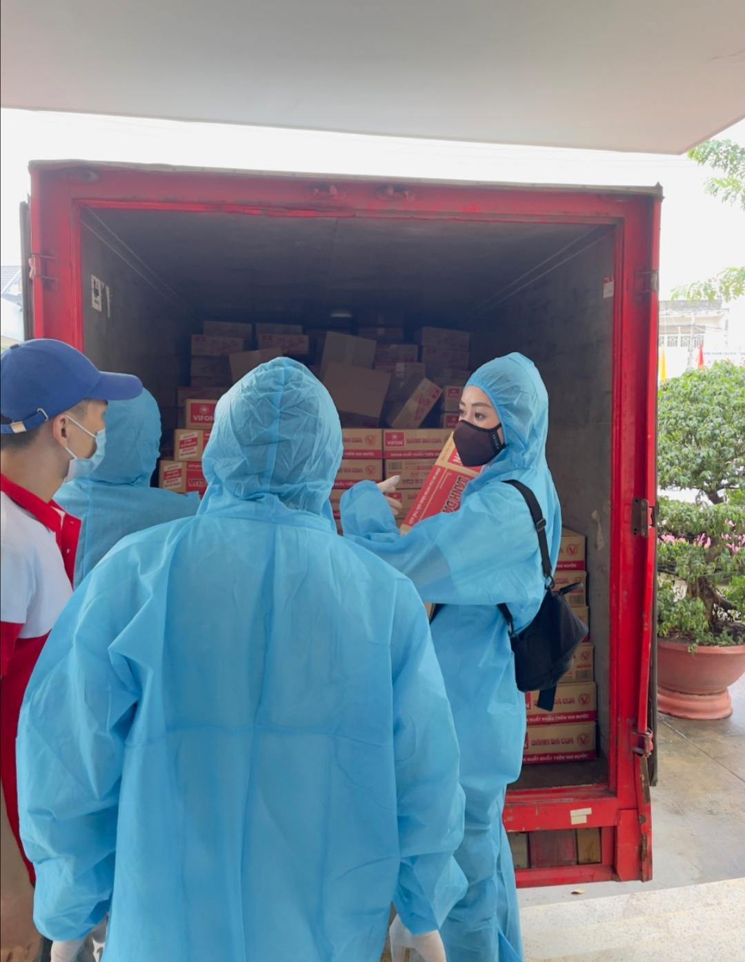 Screenshot 20210714 193252 Hoa hậu Khánh Vân tiếp tục hỗ trợ người dân có hoàn cảnh khó khăn tại TP.HCM