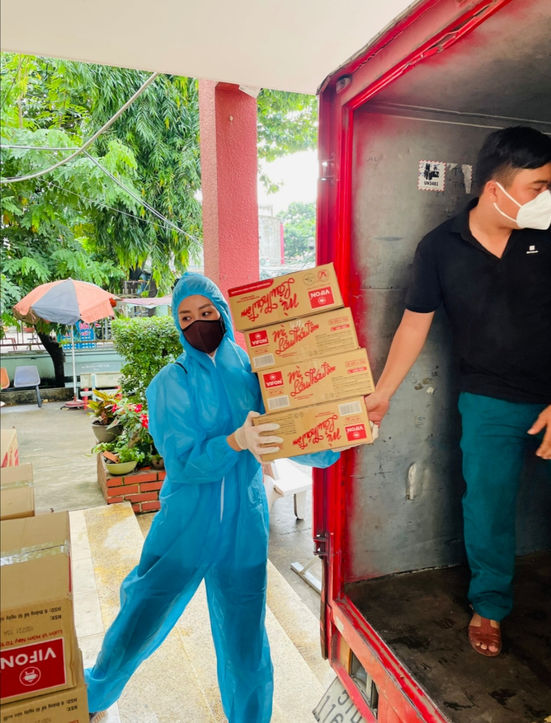 Screenshot 20210714 193420 Hoa hậu Khánh Vân tiếp tục hỗ trợ người dân có hoàn cảnh khó khăn tại TP.HCM