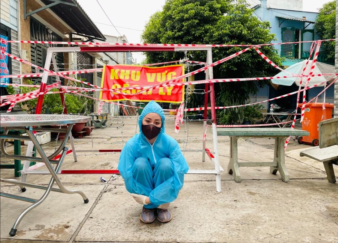 Screenshot 20210714 193432 Hoa hậu Khánh Vân tiếp tục hỗ trợ người dân có hoàn cảnh khó khăn tại TP.HCM