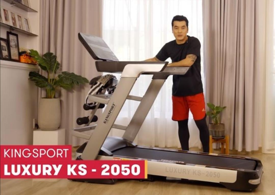 Screenshot 20210715 104007 Ưng Hoàng Phúc ở nhà vẫn vui với máy chạy bộ bán chạy nhất Việt Nam Kingsport KS 2050
