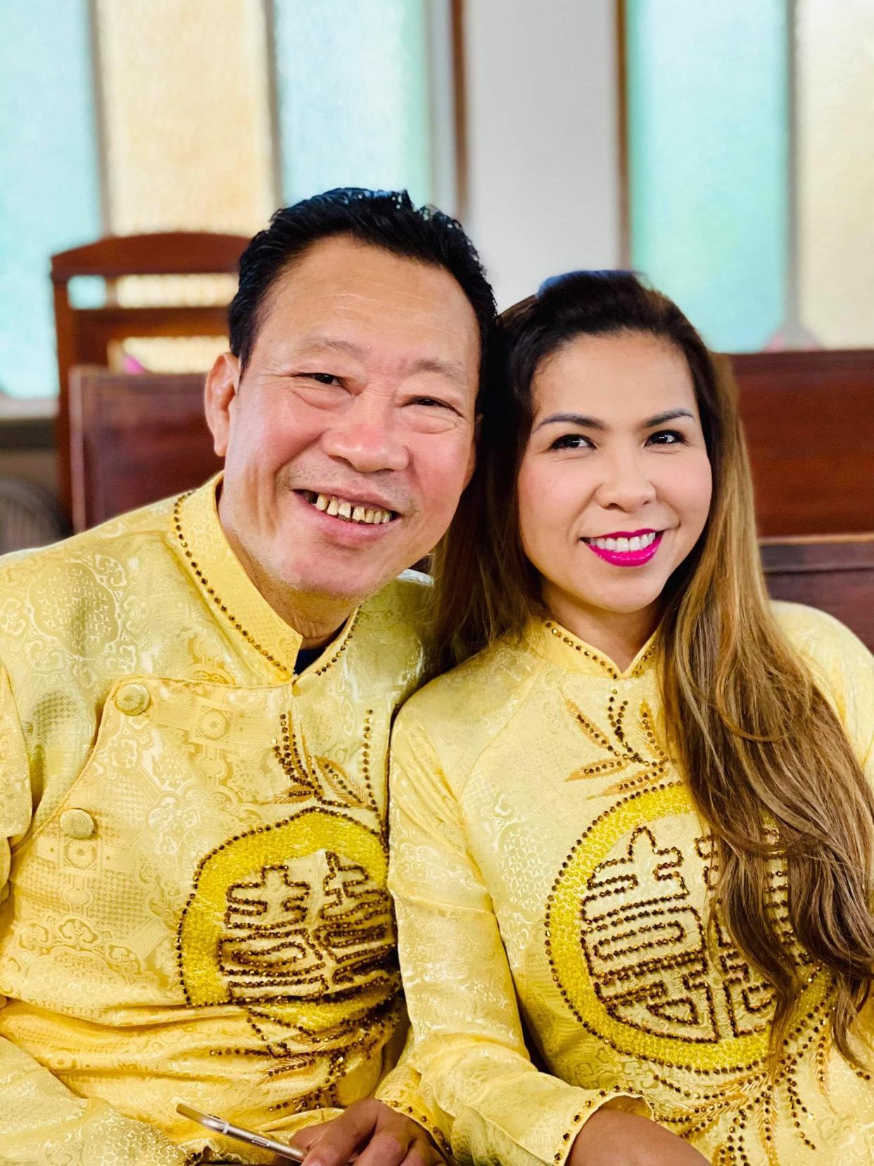 z2606492260651 9af841e3ac6fc02211e7e27c540d22c2 Trải qua thập tử nhất sinh, gia đình nghệ sỹ Cam Thơ – Lê Quang ấm êm kỷ niệm 27 năm ngày cưới