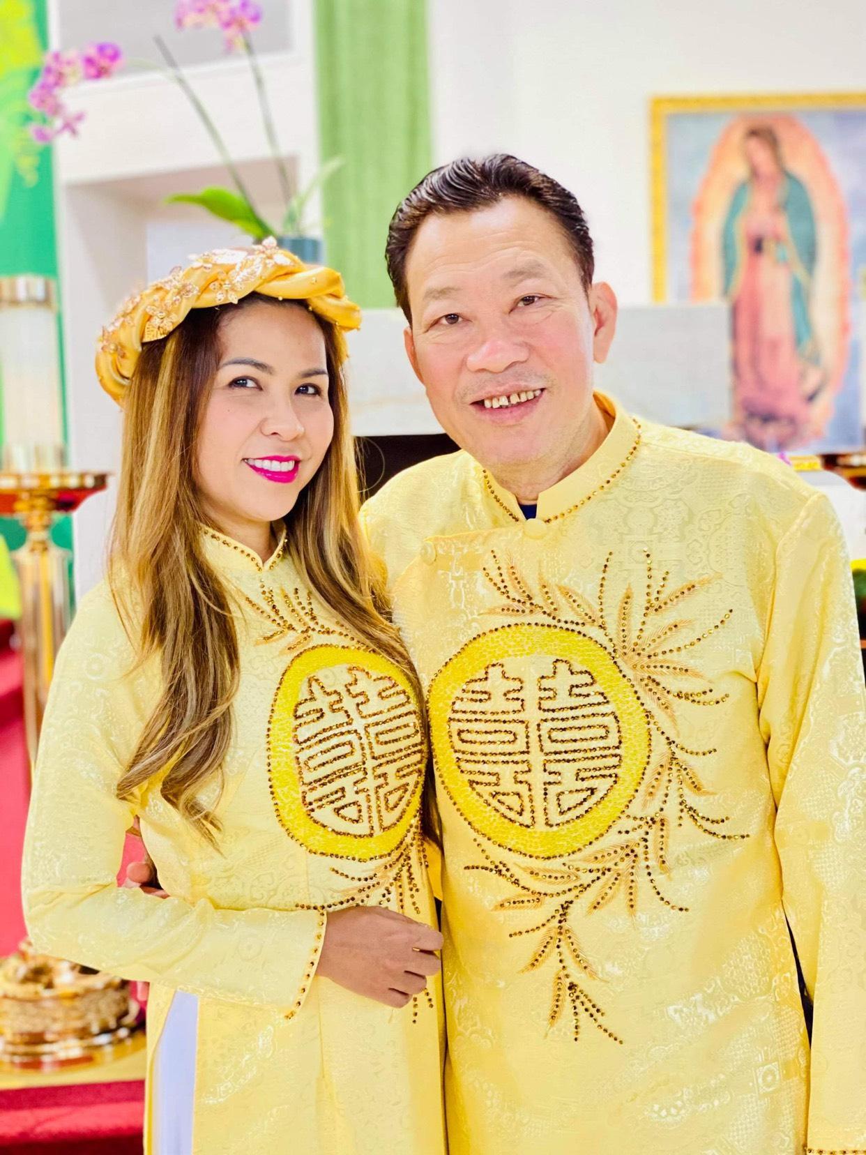z2606492264792 a7d20d4377104e0230f5f69f11068ef9 Trải qua thập tử nhất sinh, gia đình nghệ sỹ Cam Thơ – Lê Quang ấm êm kỷ niệm 27 năm ngày cưới