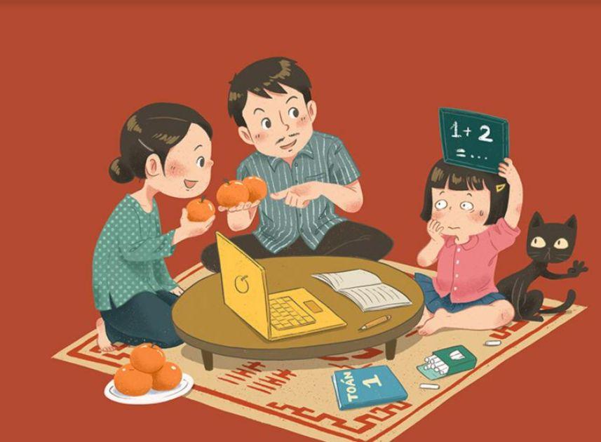 Câu Chuyện Cuộc Sống 1 Trẻ lớp 1 học online thế nào cho hiệu quả?