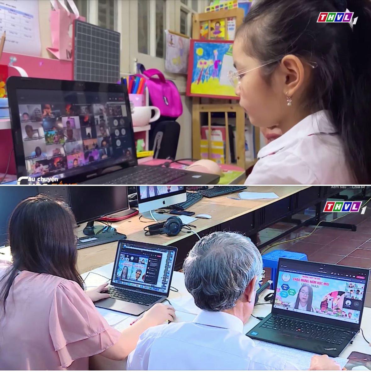 Câu Chuyện Cuộc Sống Trẻ lớp 1 học online thế nào cho hiệu quả?