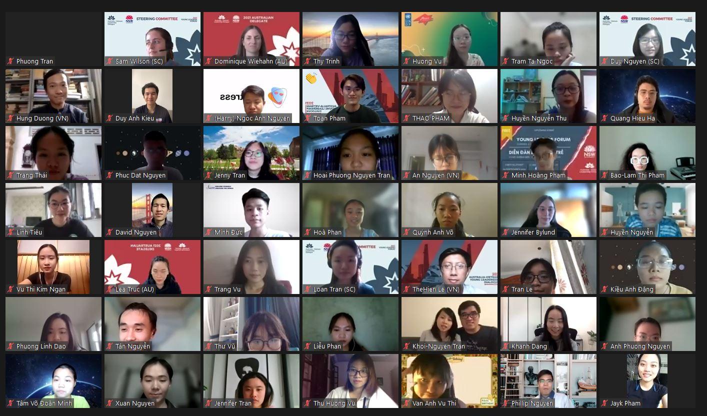 Các nhà lãnh đạo trẻ Việt Nam và Australia mở đường cho một tương lai tái tạo