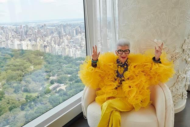 hm H&M công bố hợp tác với biểu tượng thời trang Iris Apfel trong dịp kỷ niệm 100 năm